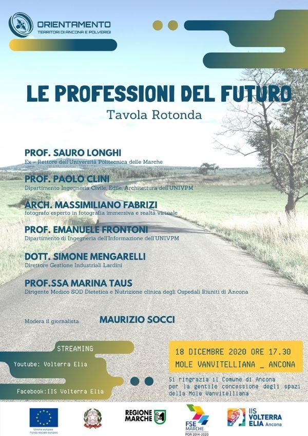 tavola rotonda le professioni del futuro RETRO 2
